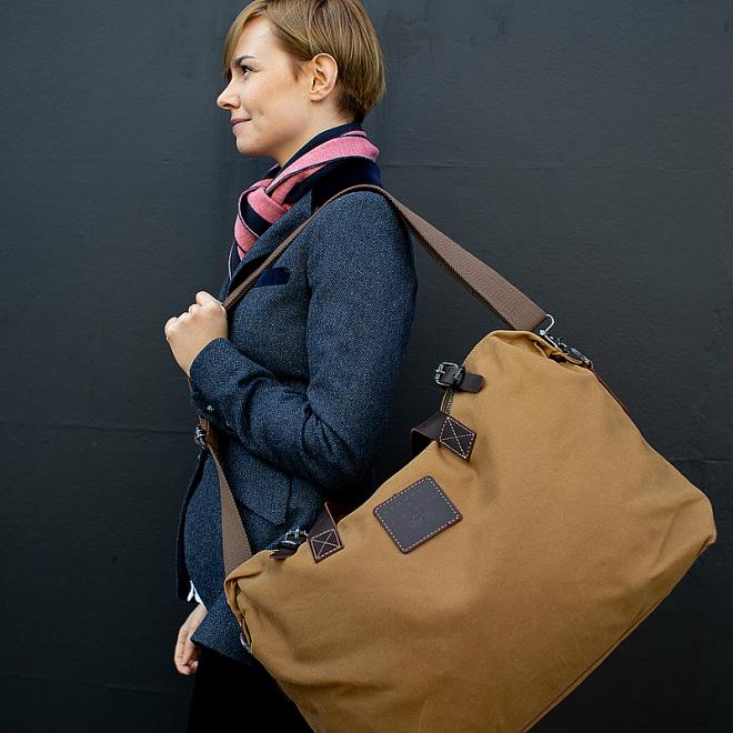 Cotton Unisex Weekender Bag