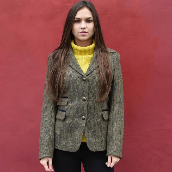 Womens Tweed Jacket