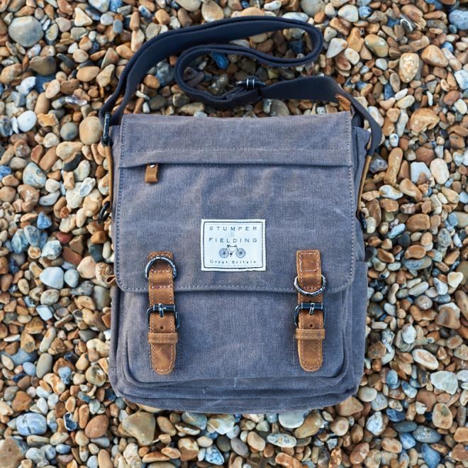 Khaki Cotton Field Bag 'The Loxley'