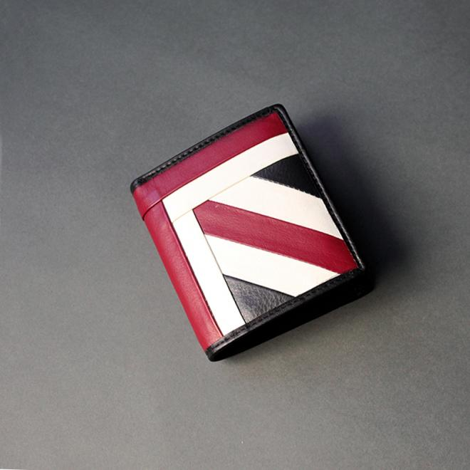 Union Jack Leather Wallet (H)