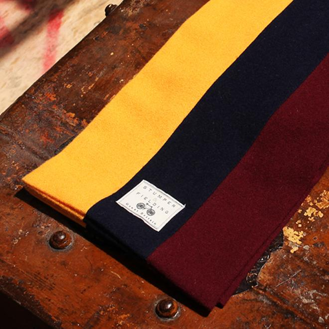 The Harlington Woollen scarf from the Classic Stumper and Fielding range.