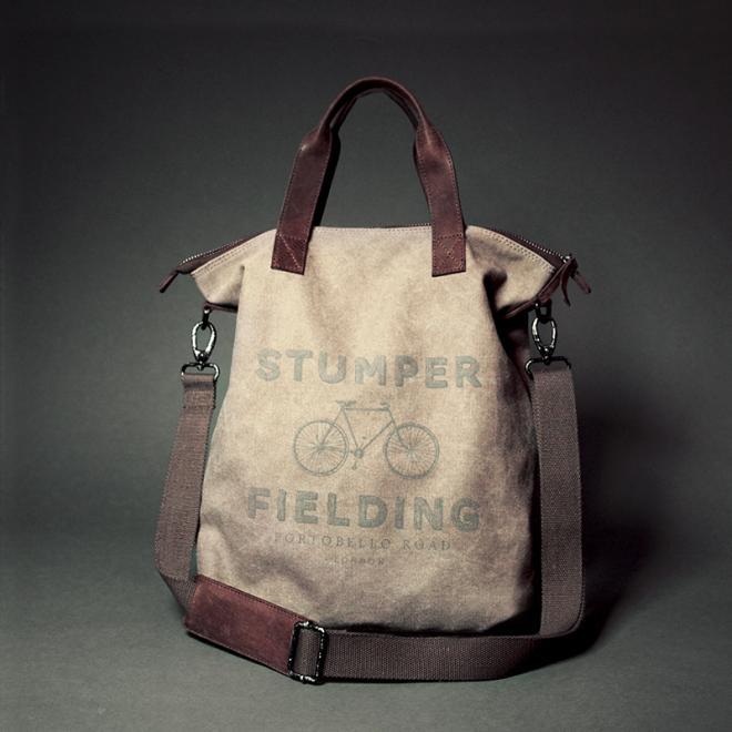 Ladies Khaki Shopper Bag (A)