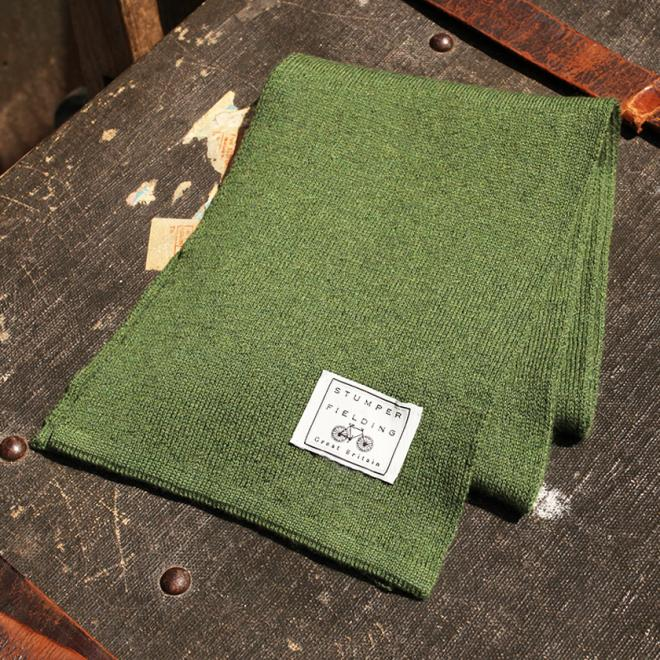 Sage Green 100% Pure New Woollen Scarf