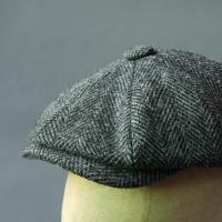 Harris Tweed Baker Boy cap