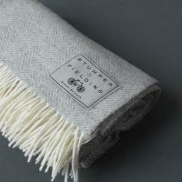 Wool Herringbone Blanket