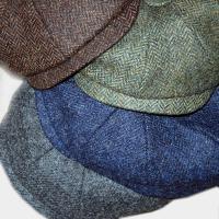 Shetland Wool Baker Boy CapShetland Wool Baker Boy Cap