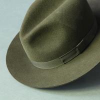 Fur-Felt Fedora Green