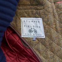 Men s quilted Harris Tweed Jacket