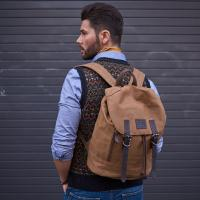 Wax  Cotton Field Back Pack