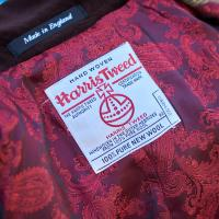 Ladies Harris Tweed Three Quarter Length Coat
