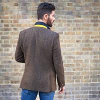 Men s slim cut Harris Tweed Jacket