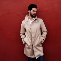 The Classic 'Mackintosh' Raincoat-Beige