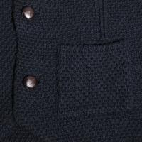 Navy Wool Men s Cardigan