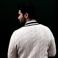 White Cricket Sweater