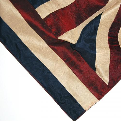 Union Jack Silk Scarf