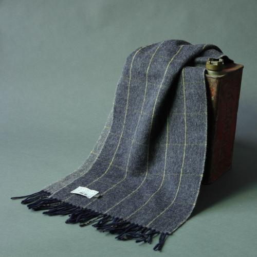 Lambswool Check Scarf